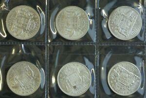 Australian-Florins-1957-1963-CHOICE-UNC-CATALOG-575