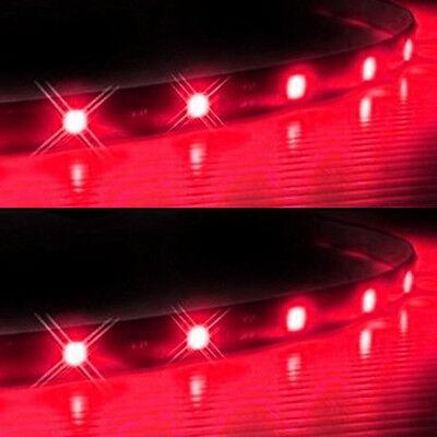 Lot8 Purple 15 LED 30CM Car Autos Grill Flexible Waterproof Light Strips SMD 12V