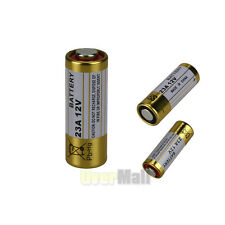 23A 12V Alkaline Batteries 23AE MS21 A23 V23GA VR22 MN21 New