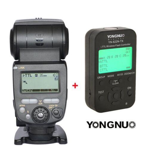 Inalámbrico TTL Flash Speedlite Yongnuo YN685 Transmisor Tx YN622N Para Nikon UK