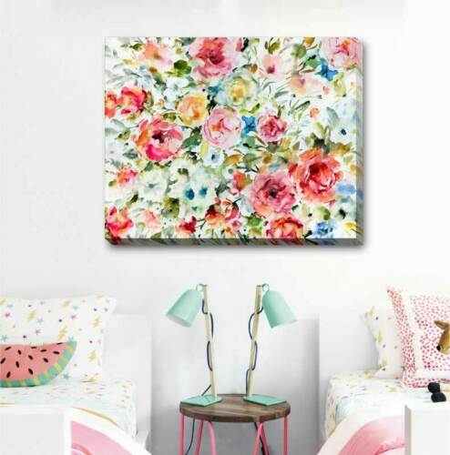 Summer Indulgence Stretched Canvas Print Framed Wall Art Decor Painting F113