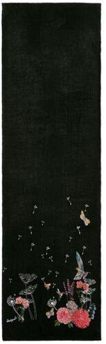 Black Buf botanic Size 2000 negro One Scarf Women's Desigual wHT1I1