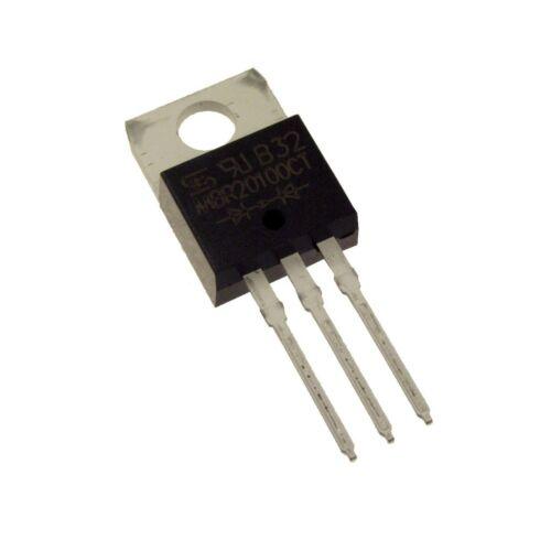 5 Dual schottky Barrier rectifiers mbr20100 redresseur Diode 20a 100v 088552