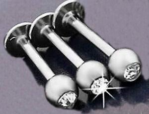Paquete-De-3-Labio-Labret-Barra-de-acero-inoxidable-con-diamantes-de-imitacion-diamante-vendedor-del
