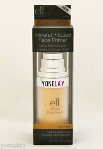 Mineral infused face primer