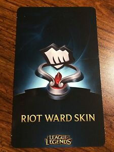 Details about League of Legends lol Fist Bump Riot Ward Skin Code Any  Server NA, EUW, etc