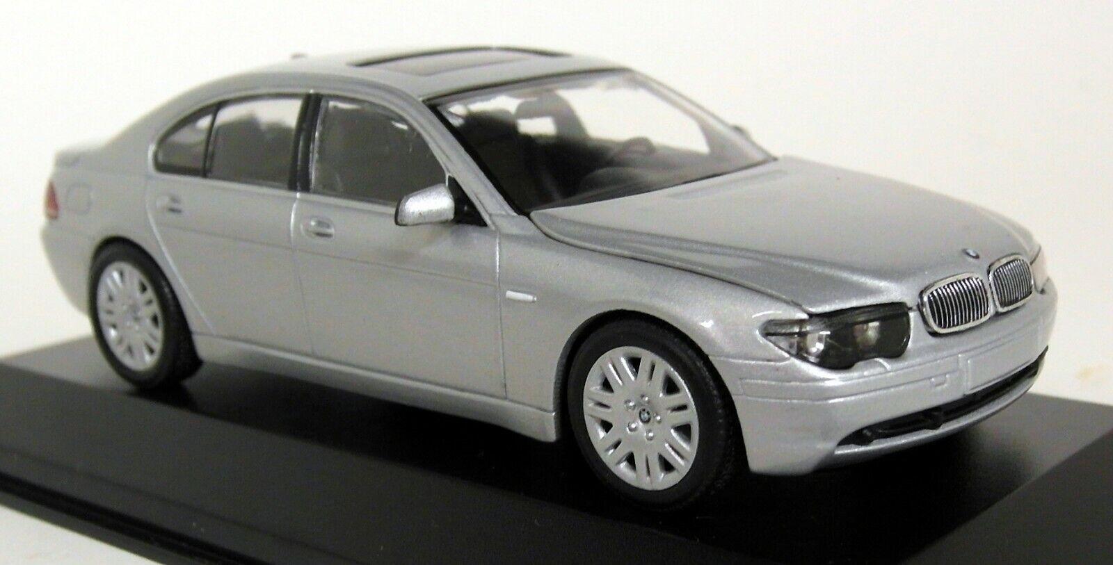 Minichamps 143 SCALA 431 020200 BMW 7 Series 2001 argentoo E65 Auto modellolo Diecast