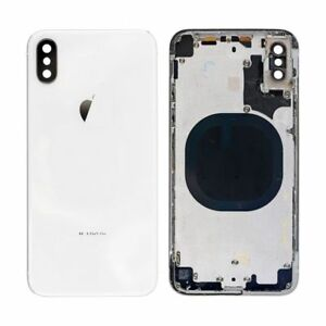 new concept 6004c d7f69 Details about iPhone X / XS / XR Cracked Back Glass Repair Replacement Mail  In Service