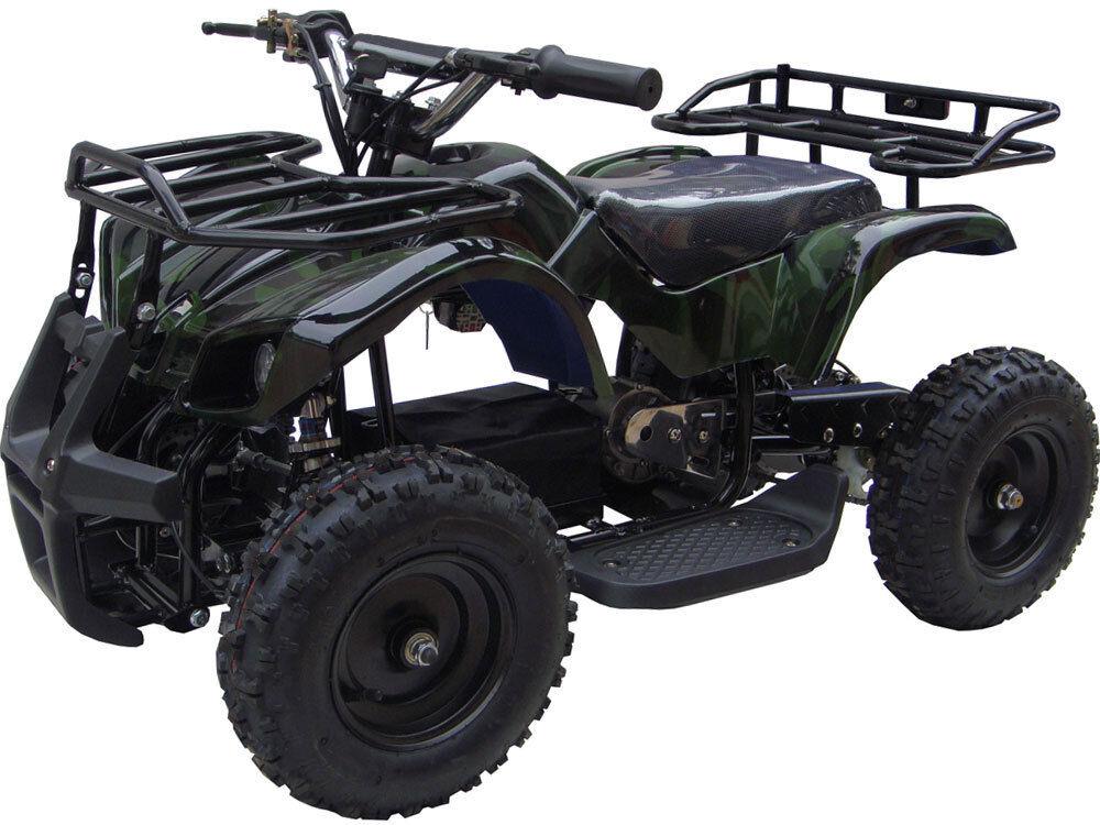 Die kinder - vier wheeler 24v mini - quad - fahrt auf elektrische batterie sonora camo