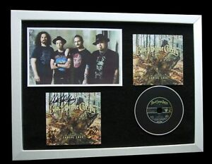 BLACK-STONE-CHERRY-SIGNED-FRAMED-FAMILY-TREE-100-GENUINE-PROOF-FAST-GLOBAL-SHIP