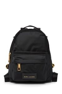 012f0ac0c4a 225 NEW ! NWT MARC JACOBS Nylon Varsity Small Backpack in Black ...