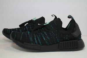 buy popular 04f23 4d413 Details about ADIDAS NMD_R1 STLT PARLEY PK CORE BLACK AQ0943