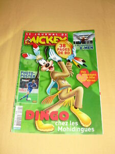 LE-JOURNAL-DE-MICKEY-N-2814-mai-2006-X-Men