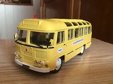 PAZ-672 M AEROFLOT  Soviet BUS 1:43 USSR car model серия Советский автобус