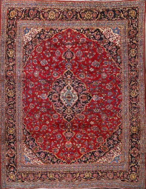 Fl Oriental Area Rug Hand Knotted