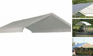 Shelterlogic Maxap Canopy Replacement Cover White 10 X 20 Ft 10x20 White Ebay