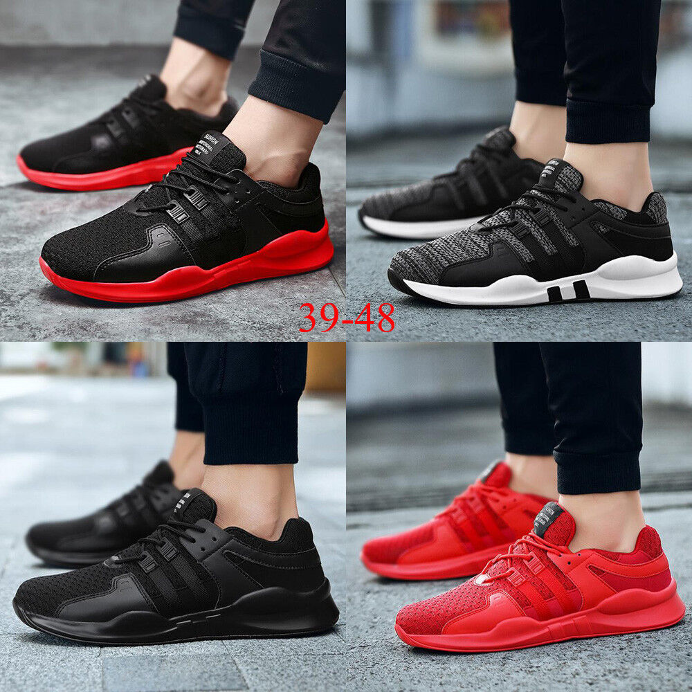 2019 Fashion Men Mesh Trainers Lace Up Mesh Sports Running Casual shoes Selling