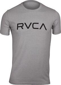RVCA-Mens-VA-Sport-Big-RVCA-Mens-T-Shirt-Gray-Noise