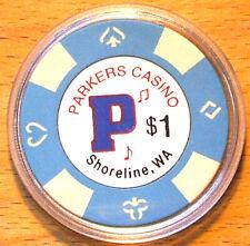 Washington Aces Casino Chip $1 Arlington 2012
