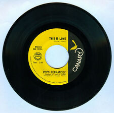 Philippines POPS FERNANDEZ This Is Love OPM 45 rpm Record