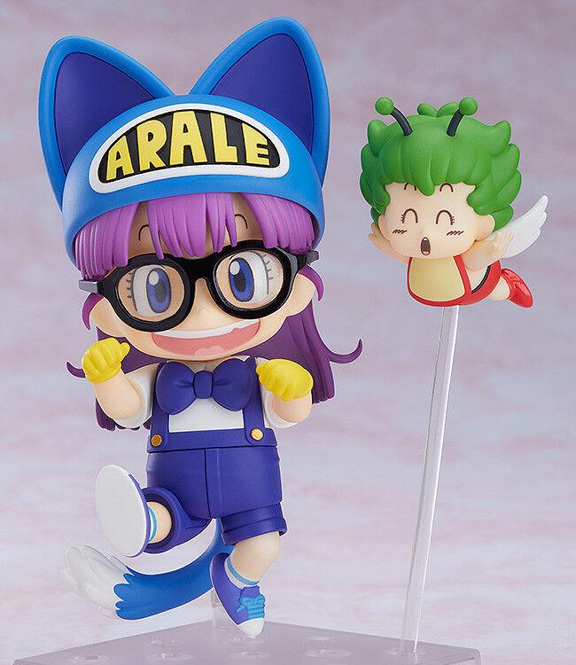 NendGoldid Arale Norimaki Cat Ears Ver. & Gatchan Japan version