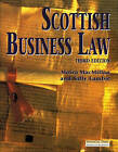 Scottish Business Law by Sally MacFarland, Moira MacMillan, Sally Lambie (Paperback, 1997)