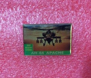 Pins-MILITAIRE-operation-DESERT-STORM-1991-AH-64-APACHE-Helicoptere