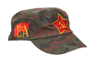 Details about Russian / USSR / Soviet Military Hat / Red Star + Flag +  Hammer & Sickle + AK-47