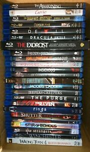 Blu-Ray-lot-24-horror-movies-scary-halloween-fright-fear-suspense-gore-chills
