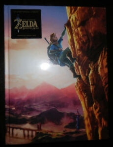 Zelda-Breath-of-the-Wild-Guide-Edition-Collector-Limitee-100-Francais-NEUF
