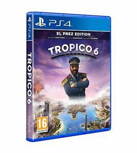 NUOVO-E-SIGILLATO-TROPICO-6-EL-PREZ-Edizione-Sony-Playstation-4-PS4-Gioco
