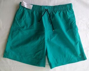 4671c095400 HERMES PARIS MENS SWIM SHORTS BOXER LONG in TURQUOISE - Size S ...