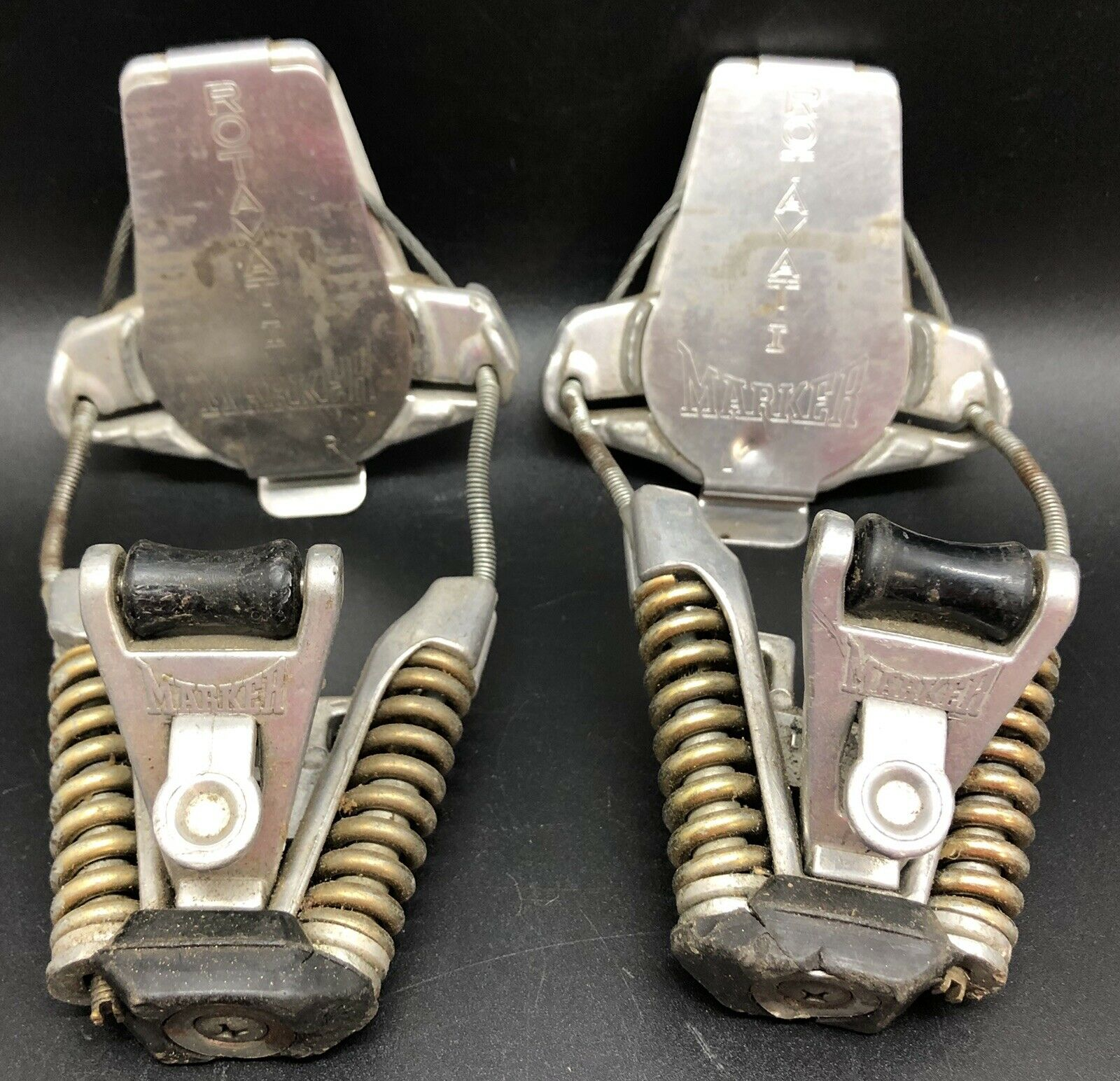 Vintage Pair of German redAMAT I Marker Ski  Bindings (RF942)  selling well all over the world