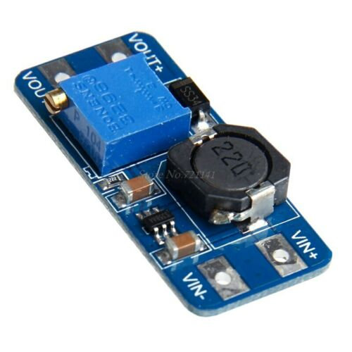 MT3608 DC DC Step Up Output 2A Adjustable Converter Booster Power Supply Module
