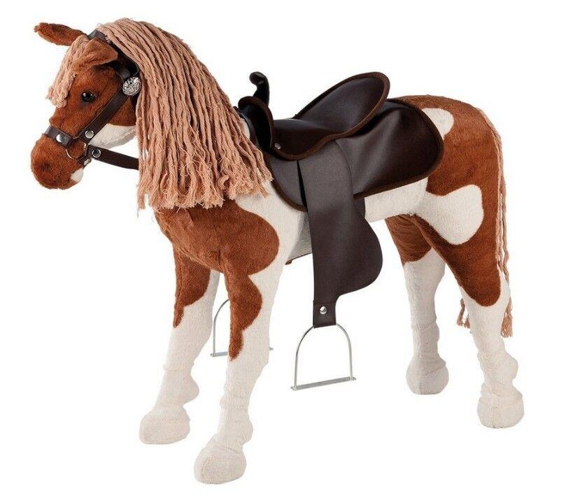 Happy People 58040 Westernpferd mit Sound Pferd Reittier Spielpferd