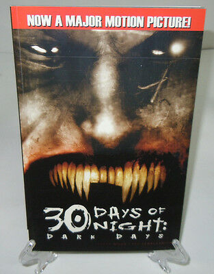 signed DARK DAYS 30 days of night 2 TPB STEVE NILES IDW TRADE PAPER BACK