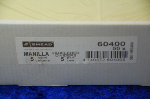 2 Stück Ordnerregister Register A4 1-5 5tlg blanko Manila Karton Ordner-Register