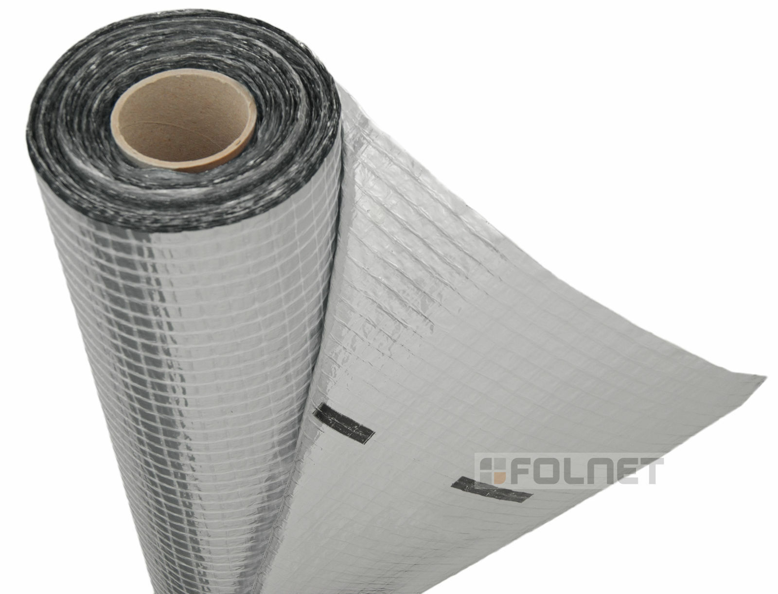 Vapour barrier thermal insulation aluminium foil membrane for Fireproof vapor barrier