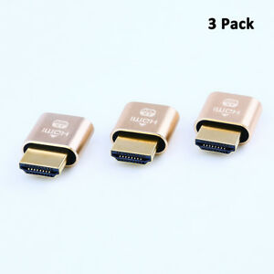 3-Pack-4K-Display-Emulator-HDMI-Dummy-Plug-Headless-Ghost-Adapter-for-Monitor-PC