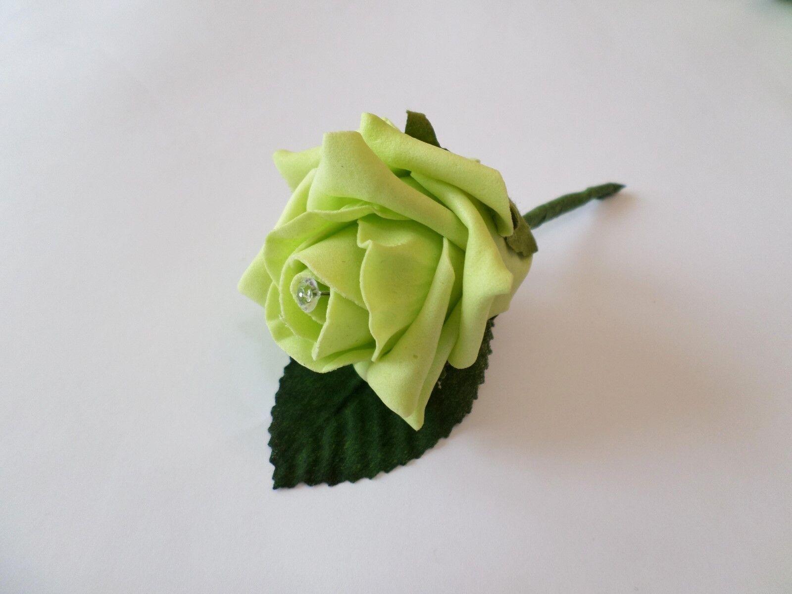 20 rosa Matrimonio asole con con con Diamante - 44 Coloreei-Sposo, ospite, il testimone 99d9ba