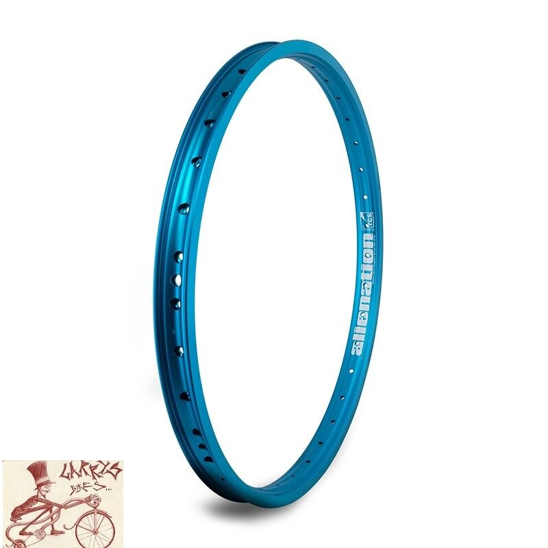ALIENATION MALICE  36H---20  blueeE BICYCLE RIM