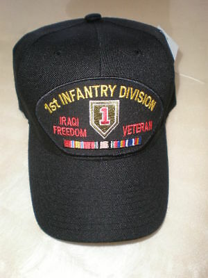 4TH INFANTRY DIVISION  IRAQI FREEDOM Emblematic Cap