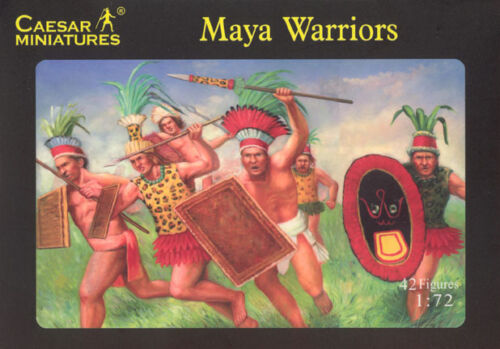 1:72 Caesar Miniatures Maya Warriors