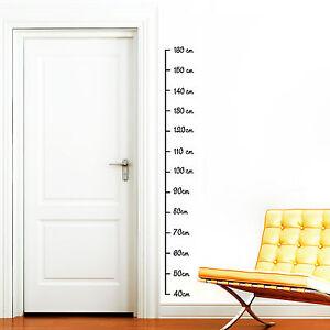 messlatte 160 wandtattoo 12251 ma band ma gr e kinderzimmer sticker aufkleber ebay. Black Bedroom Furniture Sets. Home Design Ideas