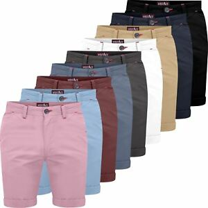 e6e005ccce Image is loading Mens-Stretch-Chino-Shorts-westAce-Cotton-Spandex-Half-