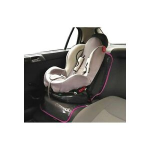 Image Is Loading Pink Baby Car Seat Protector Mat Covers Under