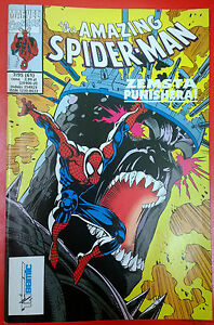 THE AMAZING SPIDERMAN - ZEMSTA PUNISHERA - TM SEMIC 7/95 - Polish COMICS - Gdynia, Polska - THE AMAZING SPIDERMAN - ZEMSTA PUNISHERA - TM SEMIC 7/95 - Polish COMICS - Gdynia, Polska