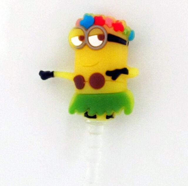 Mobile Phone Anti Dust Plug 3.5mm Earphone Jack Novelty Cartoon Movie Charm Cap