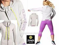 Zumba Instructor Hoodie Jersey Cardigan Jumper Jacket - Rare Elitezwear Xs S