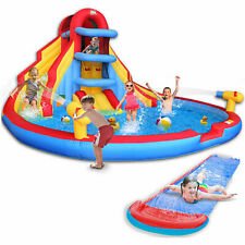 Inflatable Water Double Slide Large Jumping Castle Pool